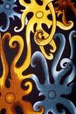 Orang ulu motif patterns. An orang ulu motif patterns design.An orang ulu is a minor ethnic group of people living in the state of sarawak the biggest state of Royalty Free Stock Image