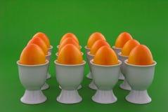orange ägg Arkivfoto