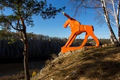 Orange älg Arkivbilder