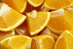 Orange åttondelar Royaltyfria Foton
