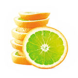 Orange étrange Photos stock