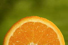 Orange. Fruit closeup Stock Photos