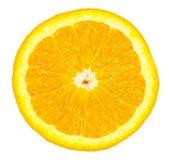 Orange. Fresh orange isolated on white Royalty Free Stock Photo