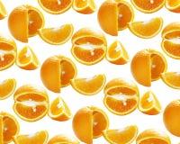Orange. On white background.Texture background Stock Image