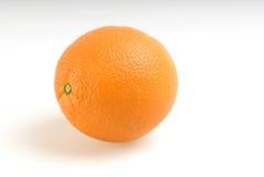 Orange. A orange  on white background Royalty Free Stock Images