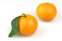 Orange. With leaves and oranges, produced in China Stock Photos