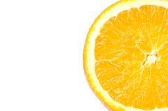 Orange. Isolated on white background Stock Image