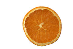 Orange. On the white background Royalty Free Stock Images
