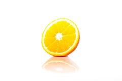 Orange. A half of fresh orange stock photo