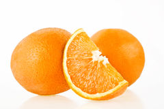 Orange. Background and white photograph taken Stock Images