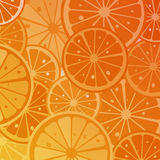 Orange. Slices background, abstract art Royalty Free Stock Image