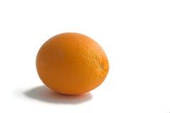 Orange. Isolated photo of ripe orange royalty free stock photography