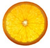 Orange. Slice of orange isolated on white background Royalty Free Stock Image