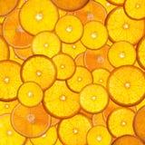 Orange. Bright orange background from slices of juicy oranges Royalty Free Stock Image