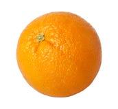 Orange. Isolated on white background Stock Photos