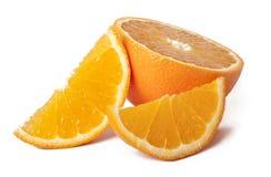 Orange. Isolated on white background Stock Photography