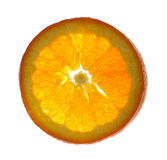 Orange. Cut in thin layer Stock Photo