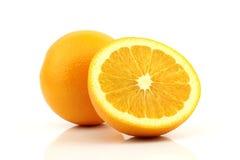 Orange. Isolated on white background Stock Images