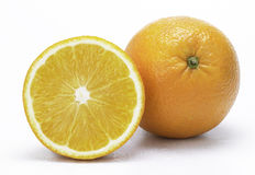 Orange. In white background