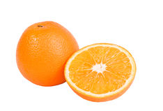 Orange. Fruit on white background Royalty Free Stock Image