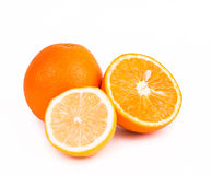 Orange. Fruit on white background Stock Photo