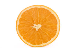 Orange. Isolated on white background Stock Photography