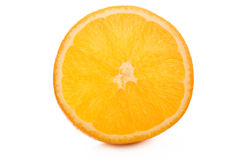 Orange. Isolated on white background Royalty Free Stock Photo