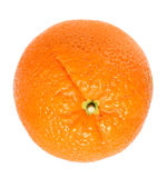 Orange. Fresh orange over white background - isolated object Stock Photo