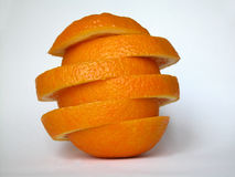 Orange. In slices Royalty Free Stock Photography
