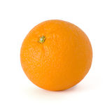 Orange. Single orange isolated on a white background Stock Photos