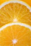 Orange Slices. Background Stock Photo