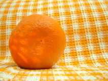 Orange. On the table Royalty Free Stock Images