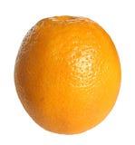 Orange. Ripe orange on a white background Stock Photography
