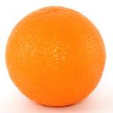 Orange. Close-up shot of orange isolated on white Royalty Free Stock Photos