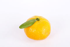 Orange. Isolated in a white background Stock Photo