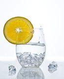 Orange. With splashing water.  Healthy Eating Stock Photo