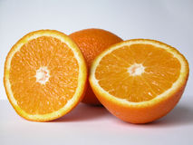 Orange. Two oranges Stock Photo