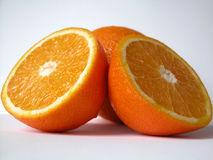 Orange. Two oranges Stock Image