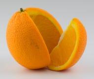 Orange 8. Isolated orange on the white Royalty Free Stock Photography