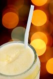 Orange. Juice in a glass beaker Royalty Free Stock Photos