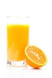 Orange. Juice and  fruit Stock Photos