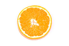 Orange. Isolated on the white background Royalty Free Stock Image