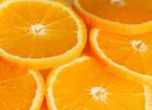 Orange. Hi res orange slices background Stock Image