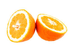 Orange. Isolated orange stock photos