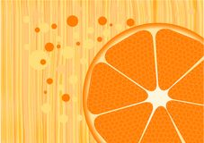orange royaltyfri illustrationer