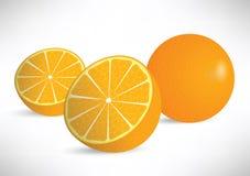 Orange Abbildung Stockfoto