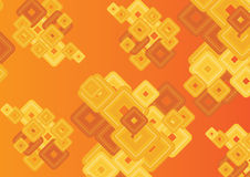 Orange abstract background Royalty Free Stock Photography