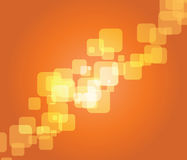 Orange abstract  background Stock Image