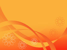 The Orange abstract background. Stock Photo
