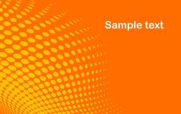 Orange abstract background Stock Image
